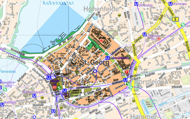 Hamburg The George Hotel